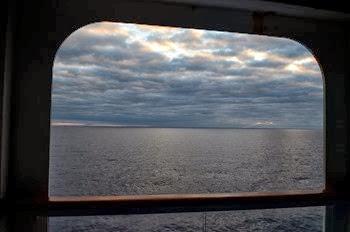 first morning at sea