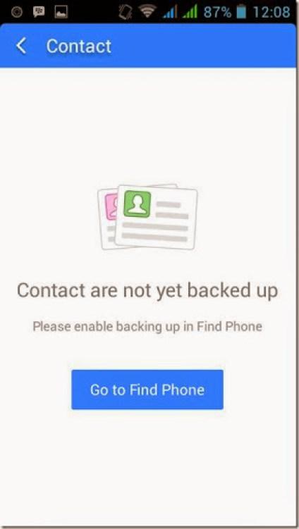 cara membackup  cepat data data smartphone android