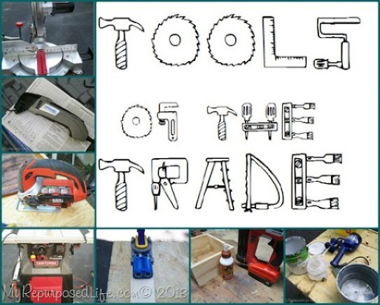 My Repurposed Life-Tools of the Trade