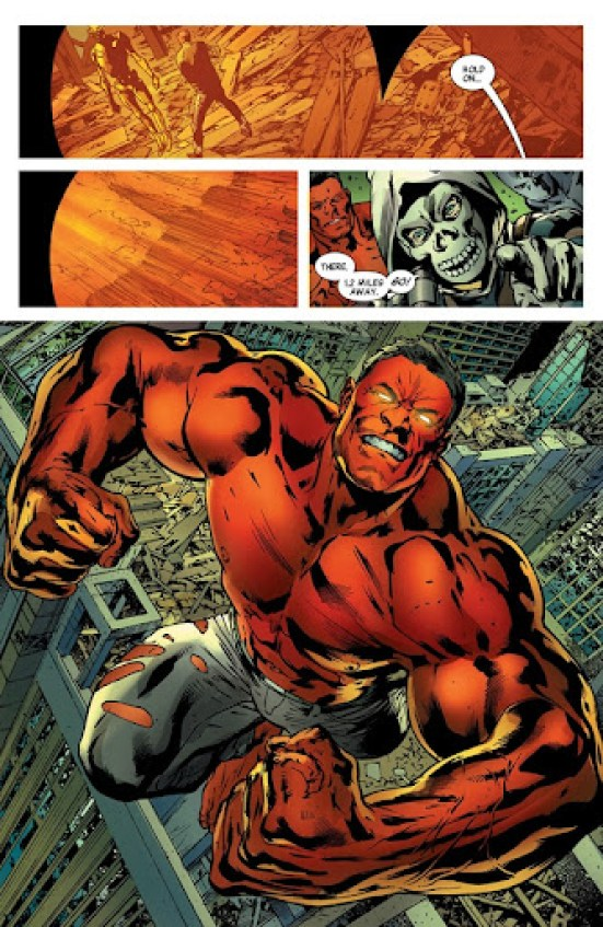 Age of Ultron Red Hulk