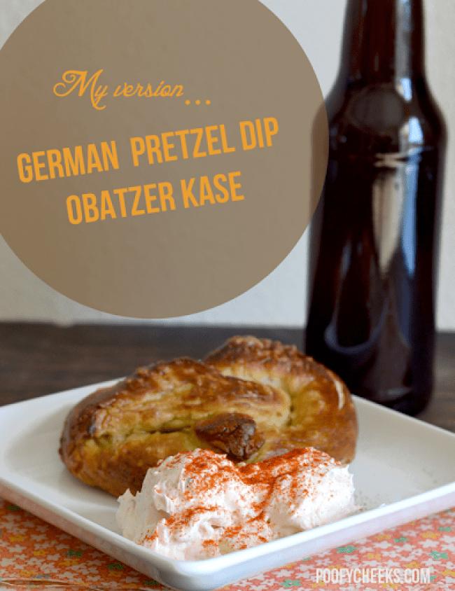 German Pretzel Dip - Obatzer Recipe