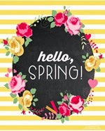 Happiness is Homemade - Hello Spring Free Printable
