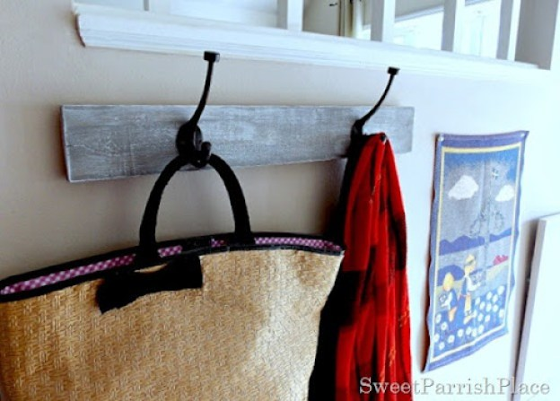 DIY coat rack 3