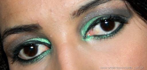 Tutorial, Smokey eyes, Green, Tutorial verde, Contém 1G, Cinabar Mary Kay