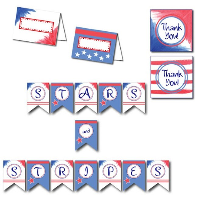 Free Fourth fo July Printables