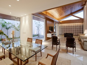 Diseño de interiores casa gedda mustafa bucar
