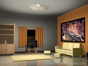 painting wall photoshop onto living intimate idea looks