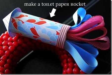 toilet paper rocket