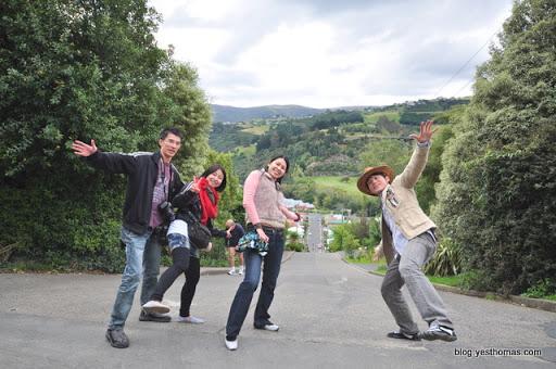 ↑會讓人站不住腳的,紐西蘭世界最陡斜坡