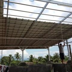 Rangka Baja Ringan Untuk Atap Asbes Kanopi Spandek Murah 081394632893:cv ...