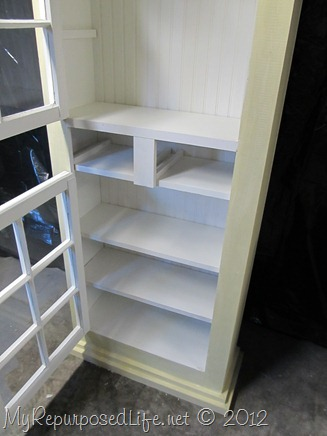 country cupboard beadboard