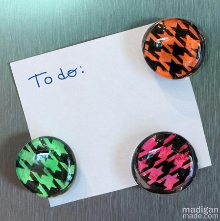 make diy neon gem magnets