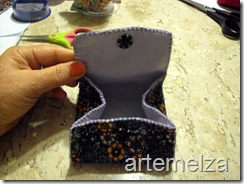 artemelza - bolsa de feltro duplo-23
