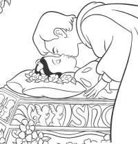 Espejo De Blancanieves Para Colorear Dibujo De Espejo