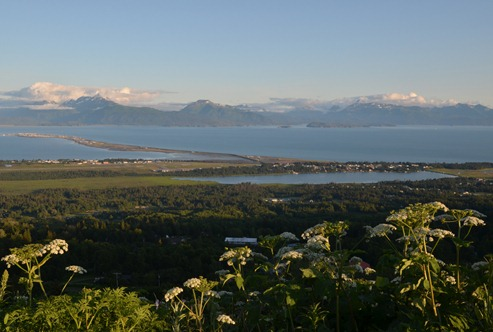 Homer spit from Skyline Drive