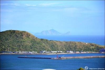 南方澳觀景台,龜山島
