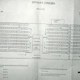 SEATING PLAN OF THE BALCONY 1973