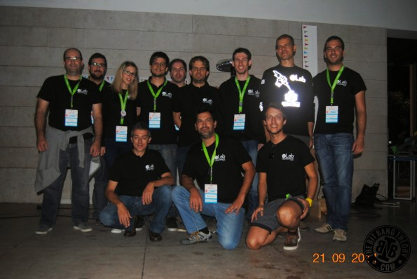 Equipa do eLab Hackerspace