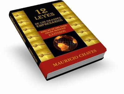 Libro: 12 leyes de los grandes empresarios. Reglas de oro para crear negocios exitosos