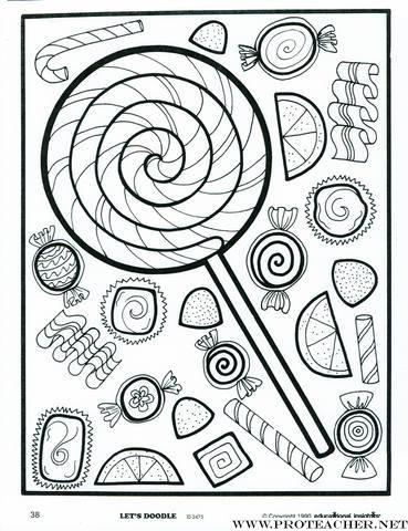 Let S Doodle Coloring Pages Educational Insights