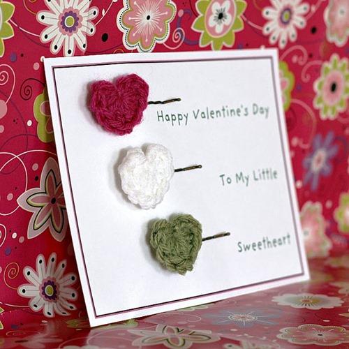 crochet heart pins tutorial