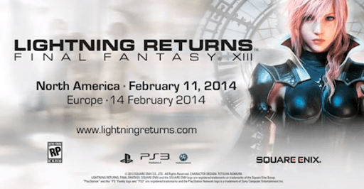 Final Fantasy XIII: Lightning Returns – Novo Trailer do jogo foi liberado
