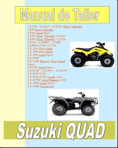 03manual taller suzuki King Quad