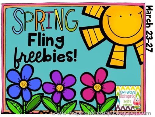 Spring Fling Freebies