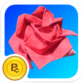 /origami-rose-virtual-flower