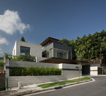 Travertine Dream House by Wallflower Architecture Design