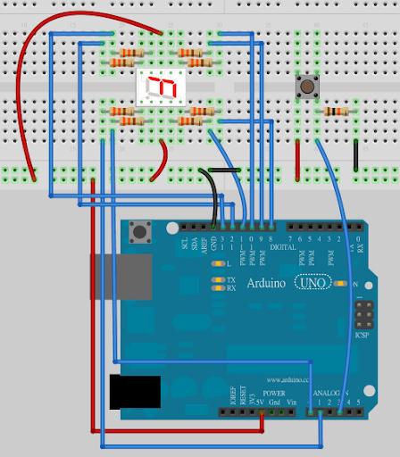 Cooper Maa: Arduino 七段顯示器擴充板
