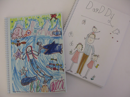 """""""King Daddy"""" book my daughter's made for my husband."""