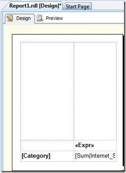 7 Hiding textbox borders and setting month expression