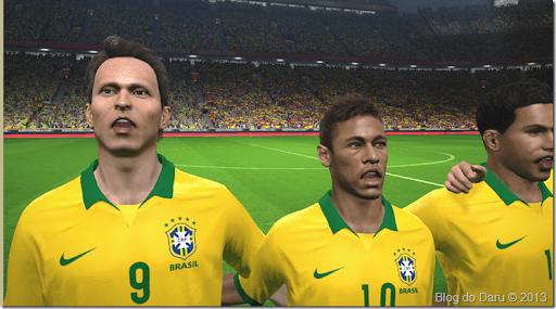 Brasil é hora do Hino Nacional