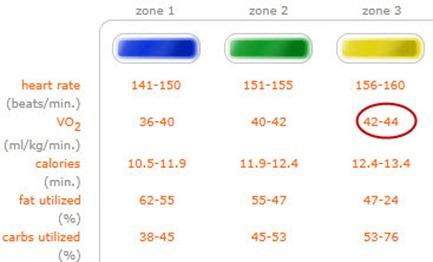 Vo max chart also understanding vo max charts to improve fat burning runtothefinish rh