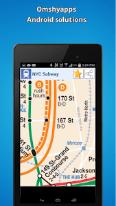 New-York city subway map (NYC) screenshot 2