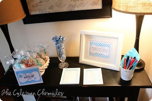 Coleman Chronicles Hadleys First Birthday PartyA Winter