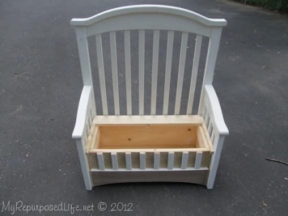 repurposed crib toybox bench (60)