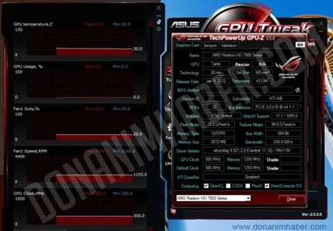 TechPowerUp-GPU-Z - AMD Radeon HD 7950