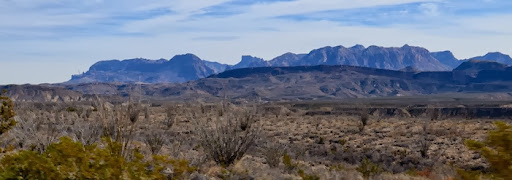 the Chisos Mountains