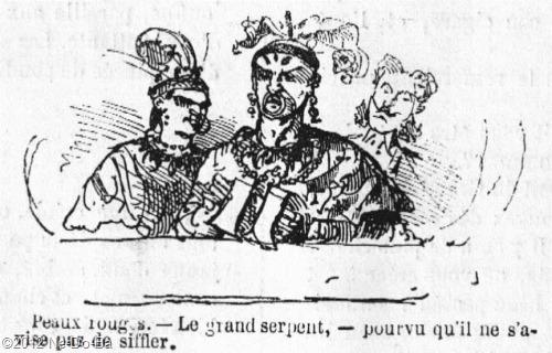 1867_ParisLife_IndianCircusComic