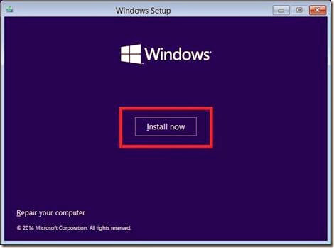 cara menginstall windows 10 di komputer
