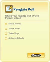 Club Penguin: New Poll