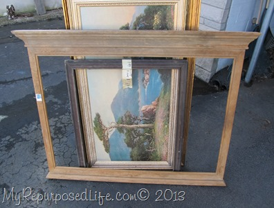 thrift store frames and more