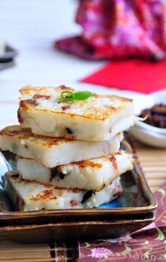 Chinese Turnip Cakes (港式臘味蘿蔔糕) http://uTry.it