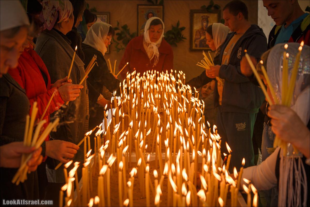 Пасха в русской церкви в Яффо