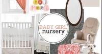 PBJstories: Another Baby Girl Nursery Mood Board