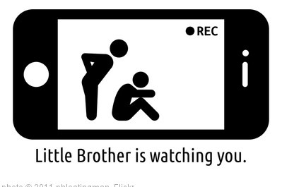 'Little Brother is watching you.' photo (c) 2011, phloatingman - license: http://creativecommons.org/licenses/by/2.0/
