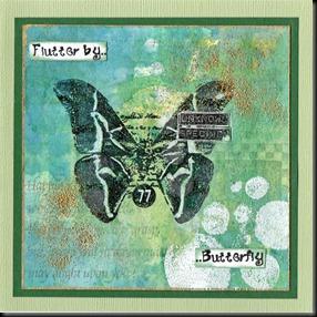 green flutterby