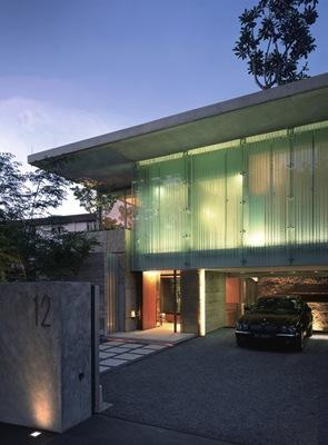 fachada-de-cristal-Casa-Sunset-Vale-WOW-Architects